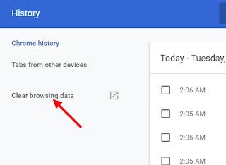 Cara Menghapus History di Google Chrome Laptop dengan Cepat