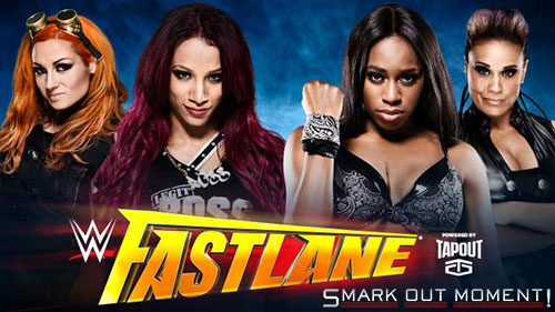 WWE Fastlane 2016 divas tag team match results predictions