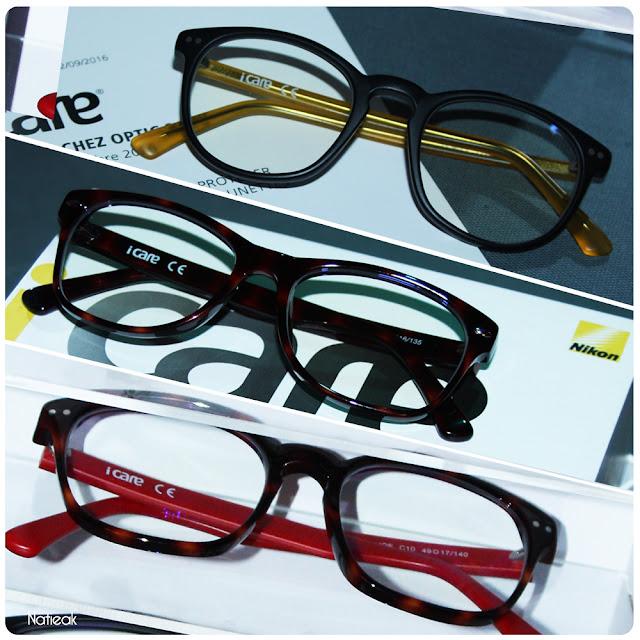 modèle de lunette iCare d'Optic 2000 et Nikon