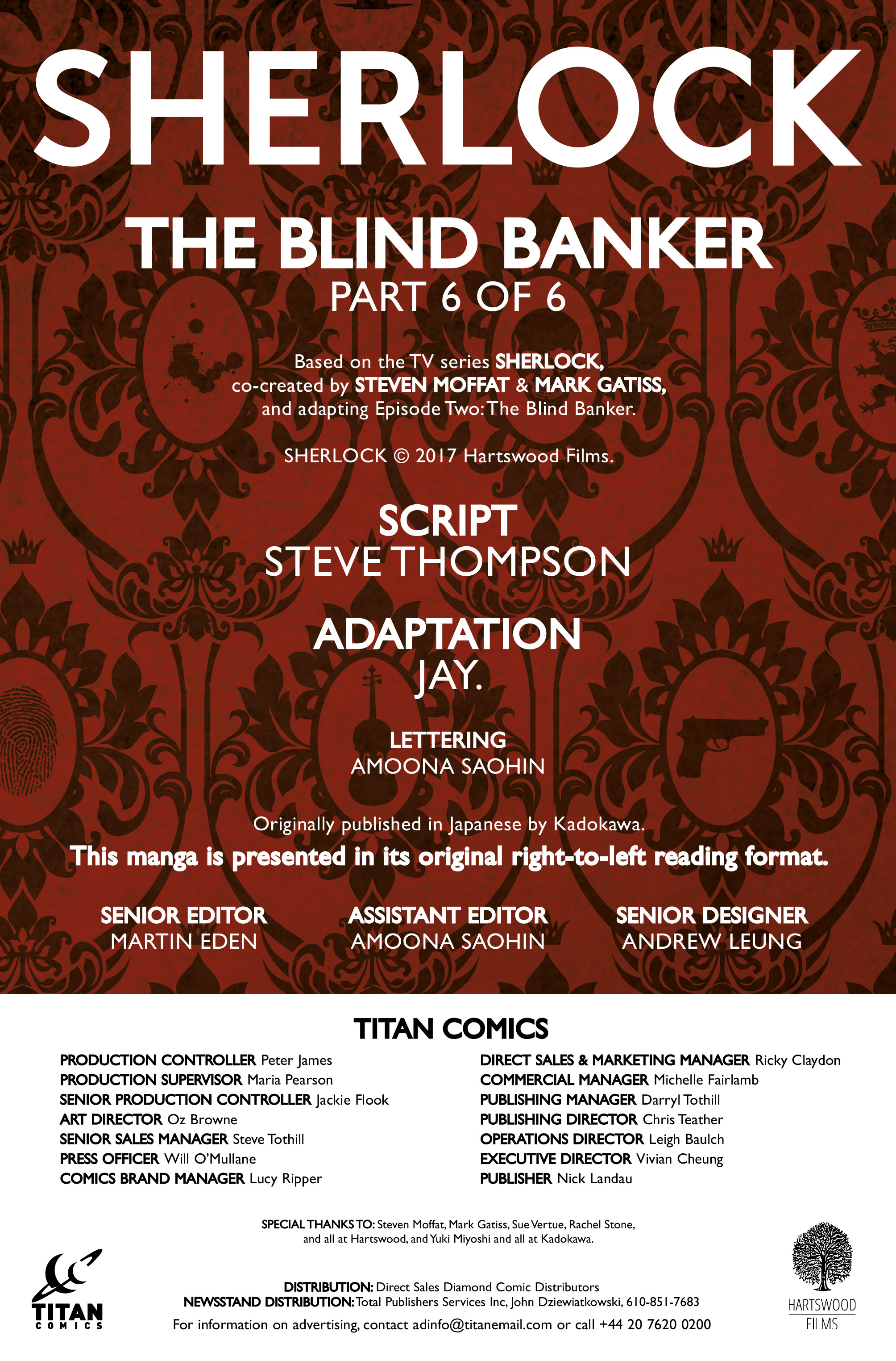 Read online Sherlock: The Blind Banker comic -  Issue #6 - 4
