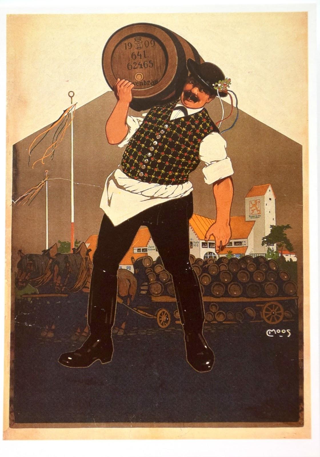 pocztówka z Bawarii