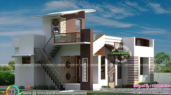 800 Sq Ft Budget Contemporary House Kerala Home Design