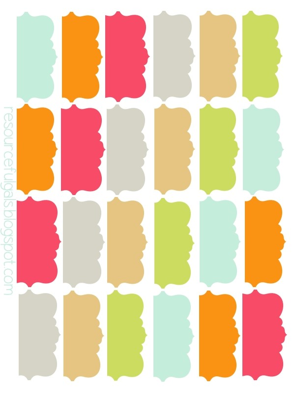 It is an image of Bewitching Printable Divider Tabs Template