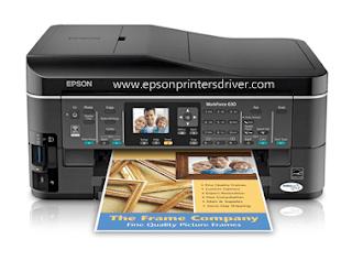 Epson Workforce 630 Driver Download