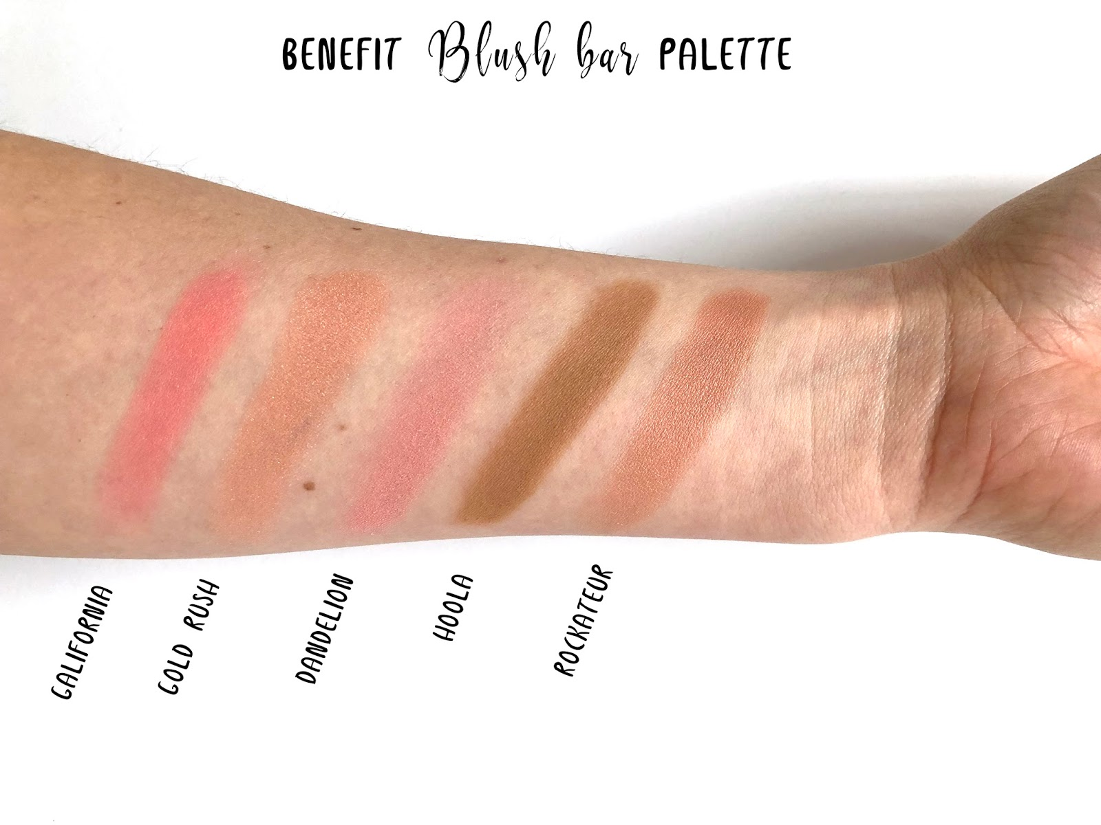 Beauty: Benefit Blush Bar Palette + New Gold Rush blush Review ...