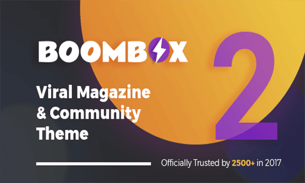 ووردبريس قالب  BoomBox wordpress theme
