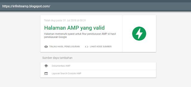 valid google amp
