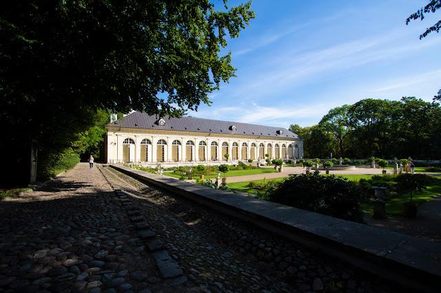 Antica orangeria-Parco Lazienki-Varsavia