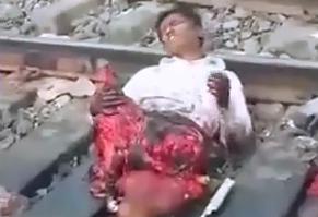 Pierde Medio Cuerpo en el Tren