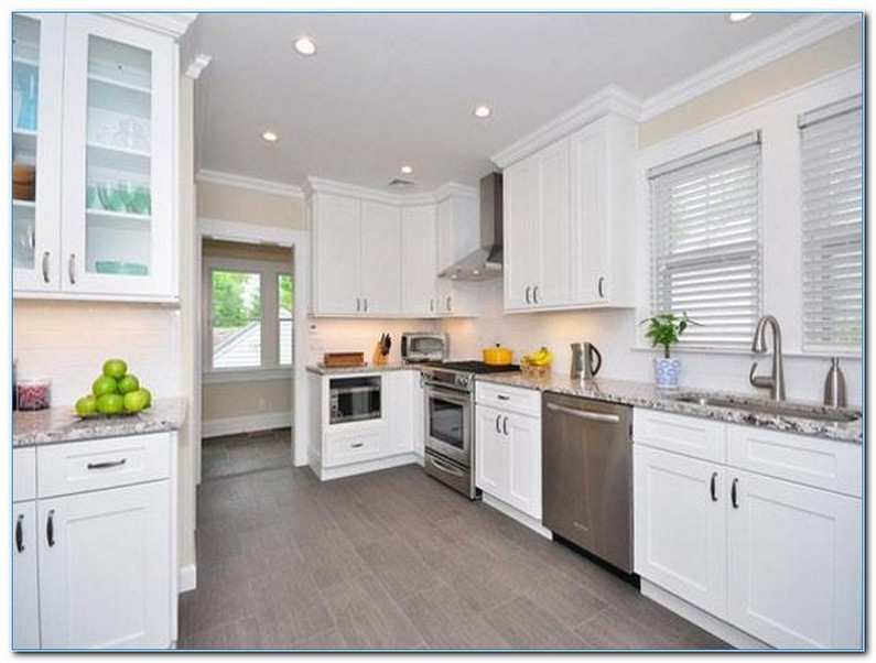 √√ KITCHEN With White Shaker CABINETS | Kitchen Design Ideas