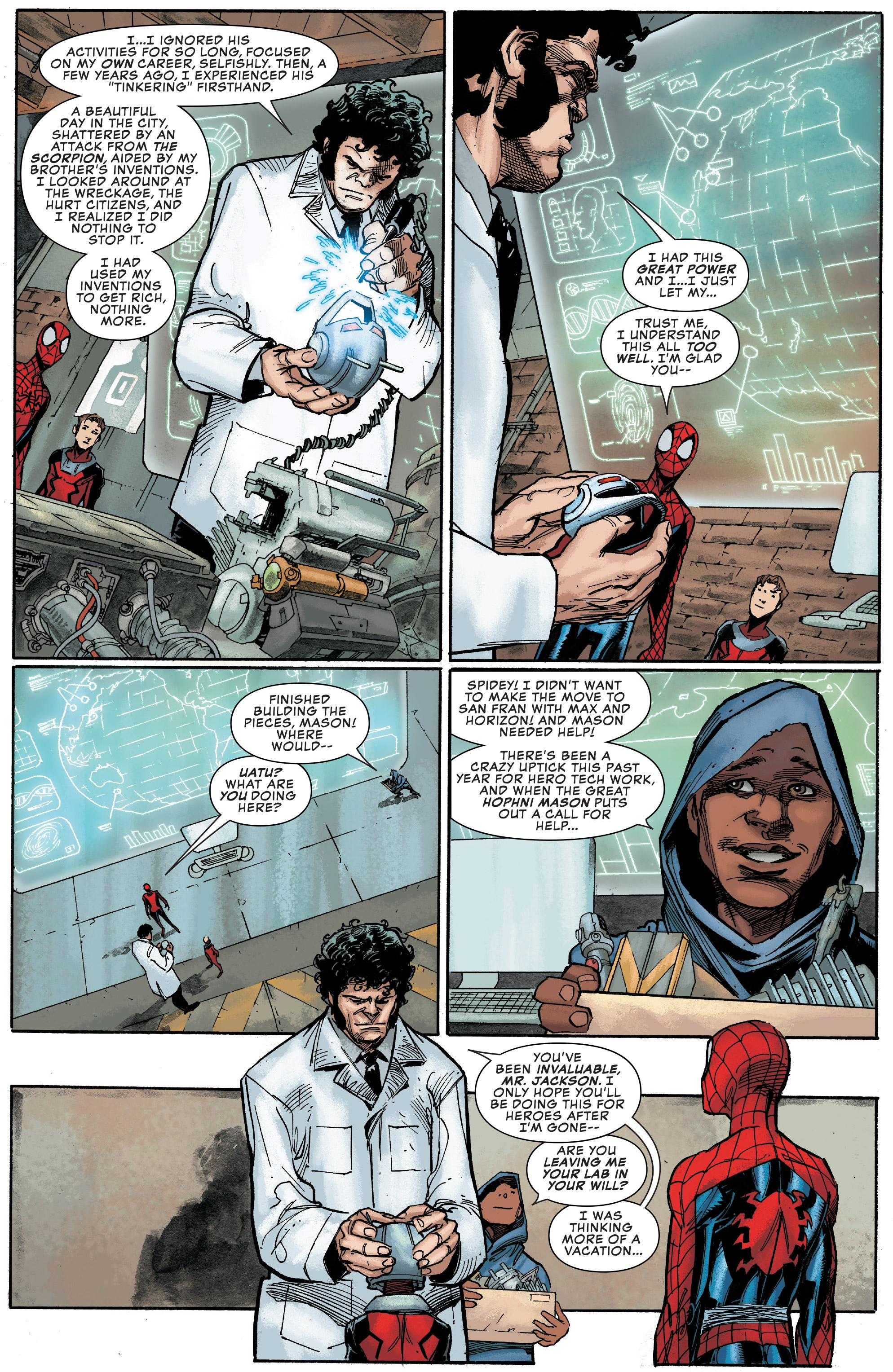 Read online Peter Parker: The Spectacular Spider-Man comic -  Issue #1 - 10