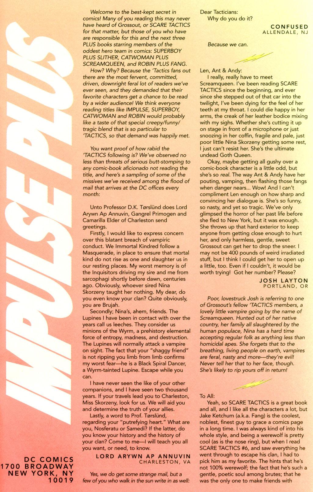 Read online Impulse Plus comic -  Issue # Full - 38