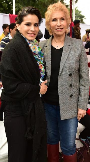 Samantha Kochhar with Dr. Blossom Kochhar