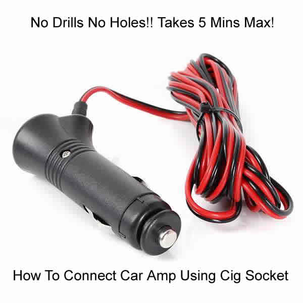 how to connect car amp to cigarette lighter socket how to install rh how to install car audio systems blogspot com