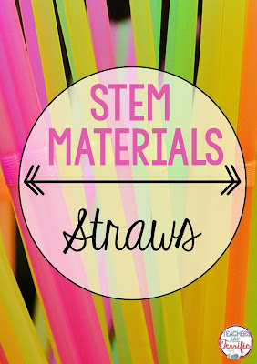 STEM materials are easier than you think! Check this blog post for hints about straws and a few other must-have materials for your STEM class!