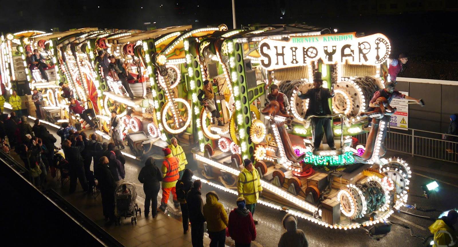 Somerset Carnival Season 2014 - Gremlins Carnival Club with 'Brunel's Kingdom - The Shipyard'