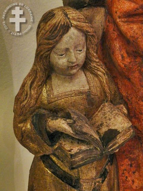 NANCY (54) - Musée lorrain : Education de la Vierge (XVIe siècle)