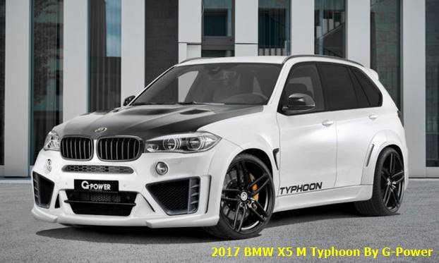 2017 BMW X5 M Typhoon By G-Power