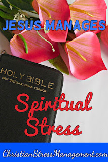 Jesus manages spiritual stress