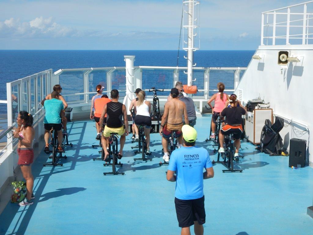 Cruzeiro Fitness - Aula de Bike