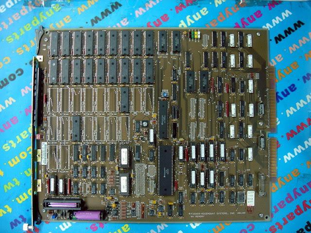 FISHER ROSEMOUNT RS3 01984-2347-0021 MEMORY BOARD