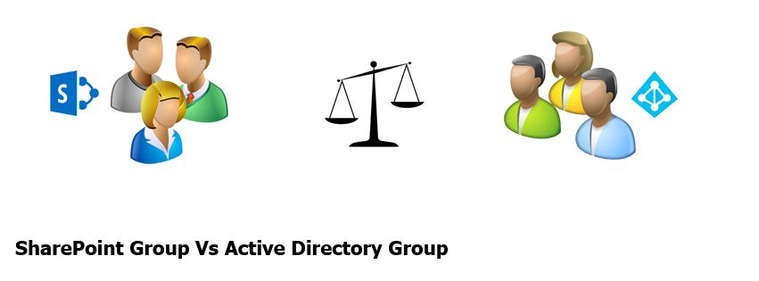 sharepoint group vs active directory group comparison
