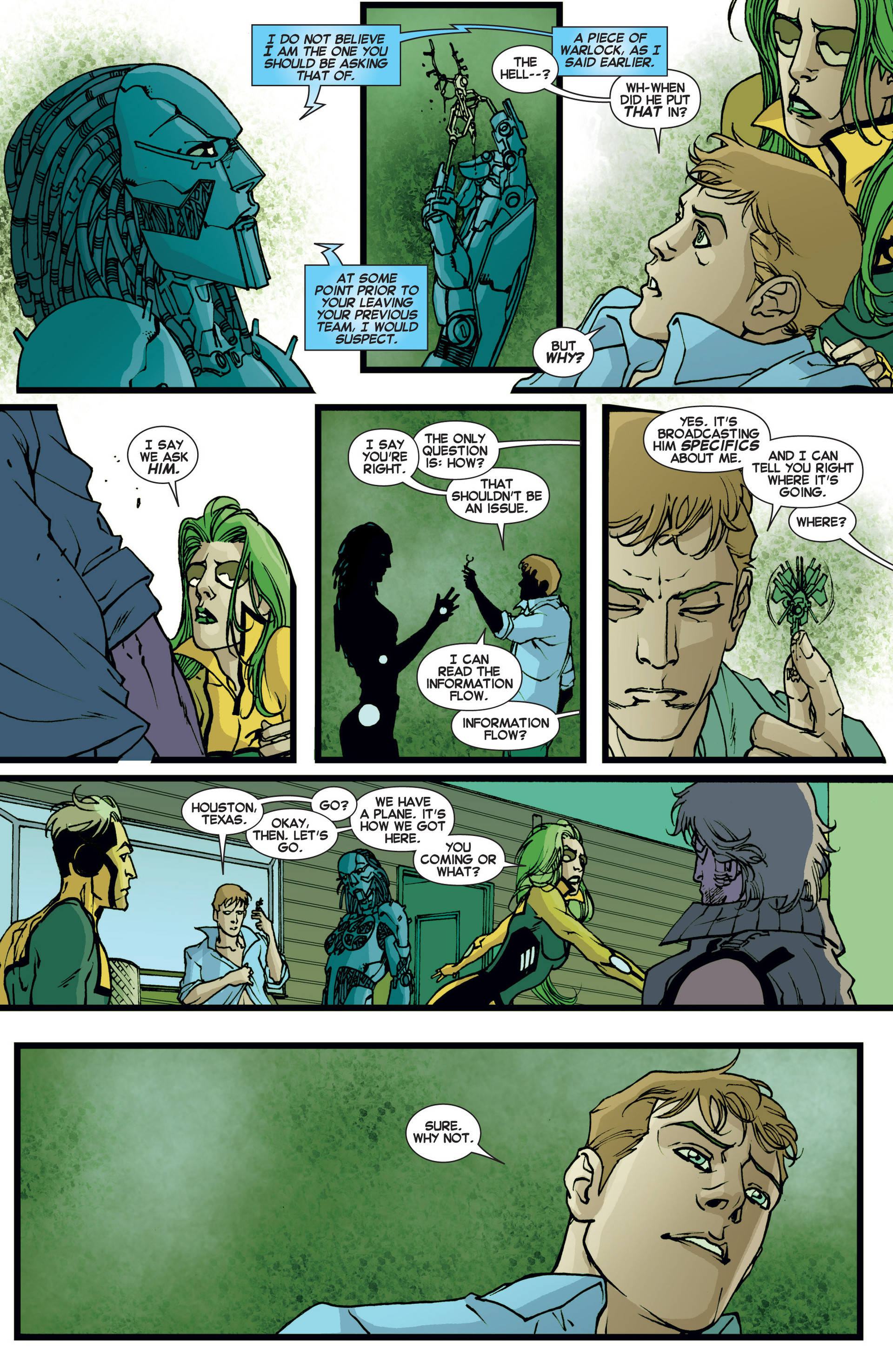 Read online All-New X-Factor comic -  Issue #6 - 9