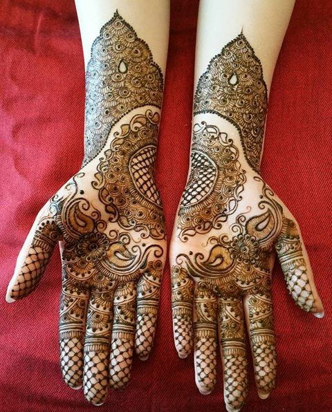 Mehandi Design for Hands 13