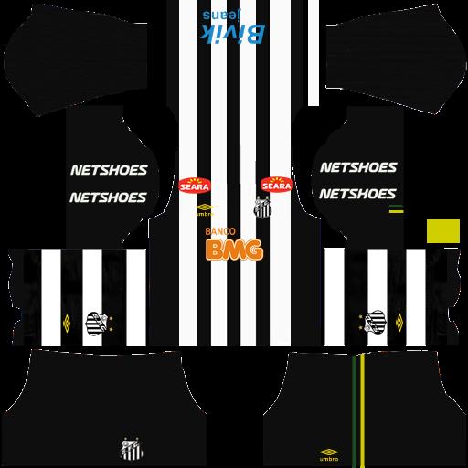 Kits Retrô Dream League  Kit Santos 2011 dls (512x512) ... 9ab6e65eca796