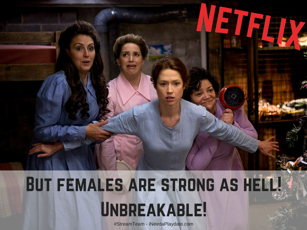 But females are strong as hell. Unbreakable #streamteam