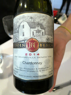 Hidden Bench Estate Chardonnay 2014 (90 pts)