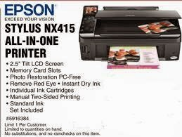 inwards liberate energy savings alongside the Energy Star qualified Epson Stylus printer Download Driver Epson Stylus NX415