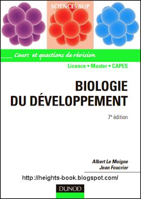 Télécharger Livre Gratuit Biologie du Développement pdf