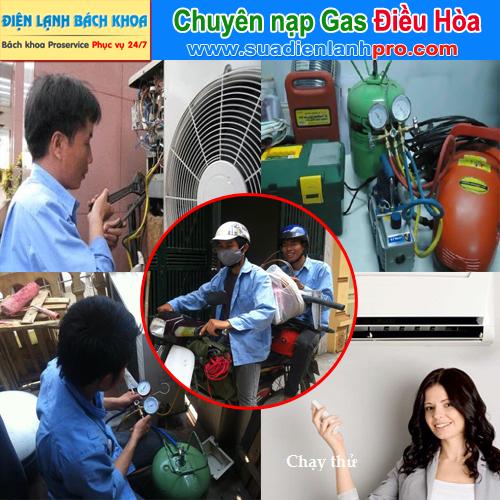 Chuyên nạp gas điều hòa tại nhà Hà Nội - Uy tín
