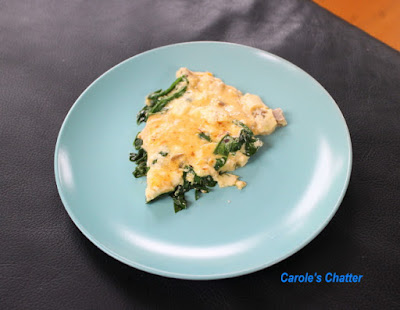 Carole's Chatter: Stovetop Spinach & Sausage Frittata