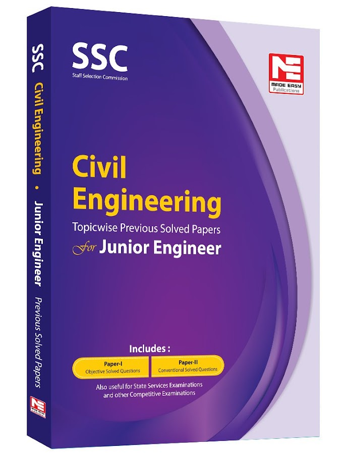SSC JE Civil Engineering Made easy PDF