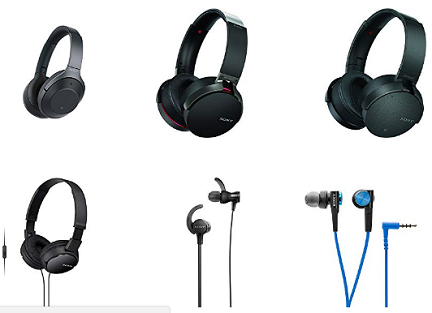 Buy Sony Headphones With Mic At Best Price Online