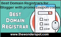 Best Domain Registrars for Blogger with promo coupon codes