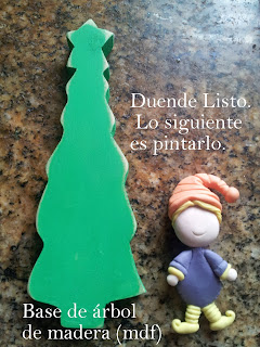 Duende-navideño-en-Porcelana-fría