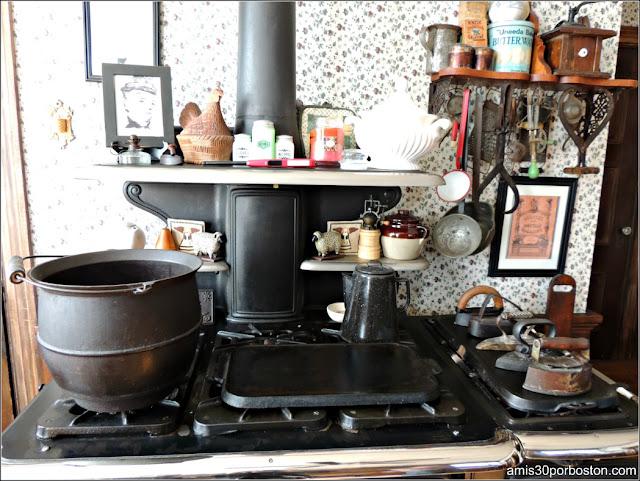 Lizzie Borden Bed & Breakfast Museum: Cocina