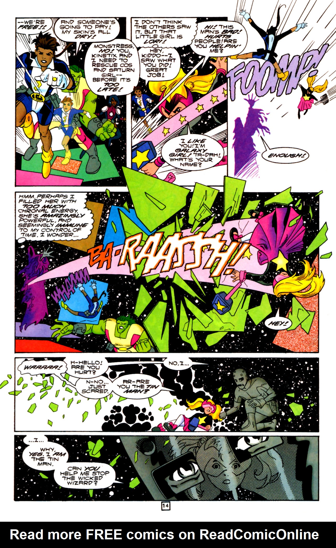 Legion of Super-Heroes (1989) 105 Page 13