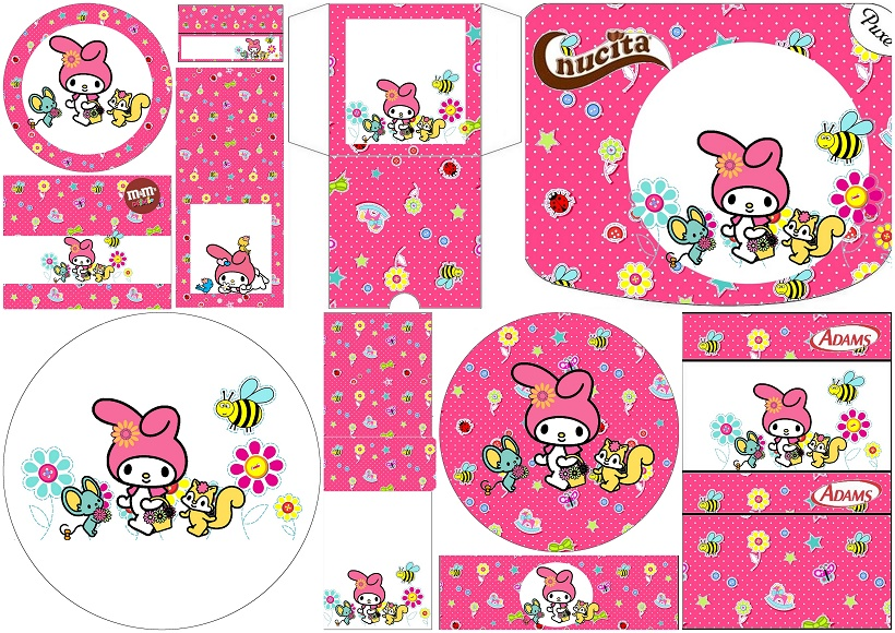 Swell My Melody Birthday Party Free Printable Candy Buffet Labels Download Free Architecture Designs Scobabritishbridgeorg