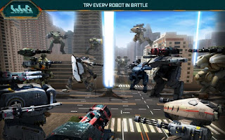 Walking War Robots Apk Mod Unlimited coins