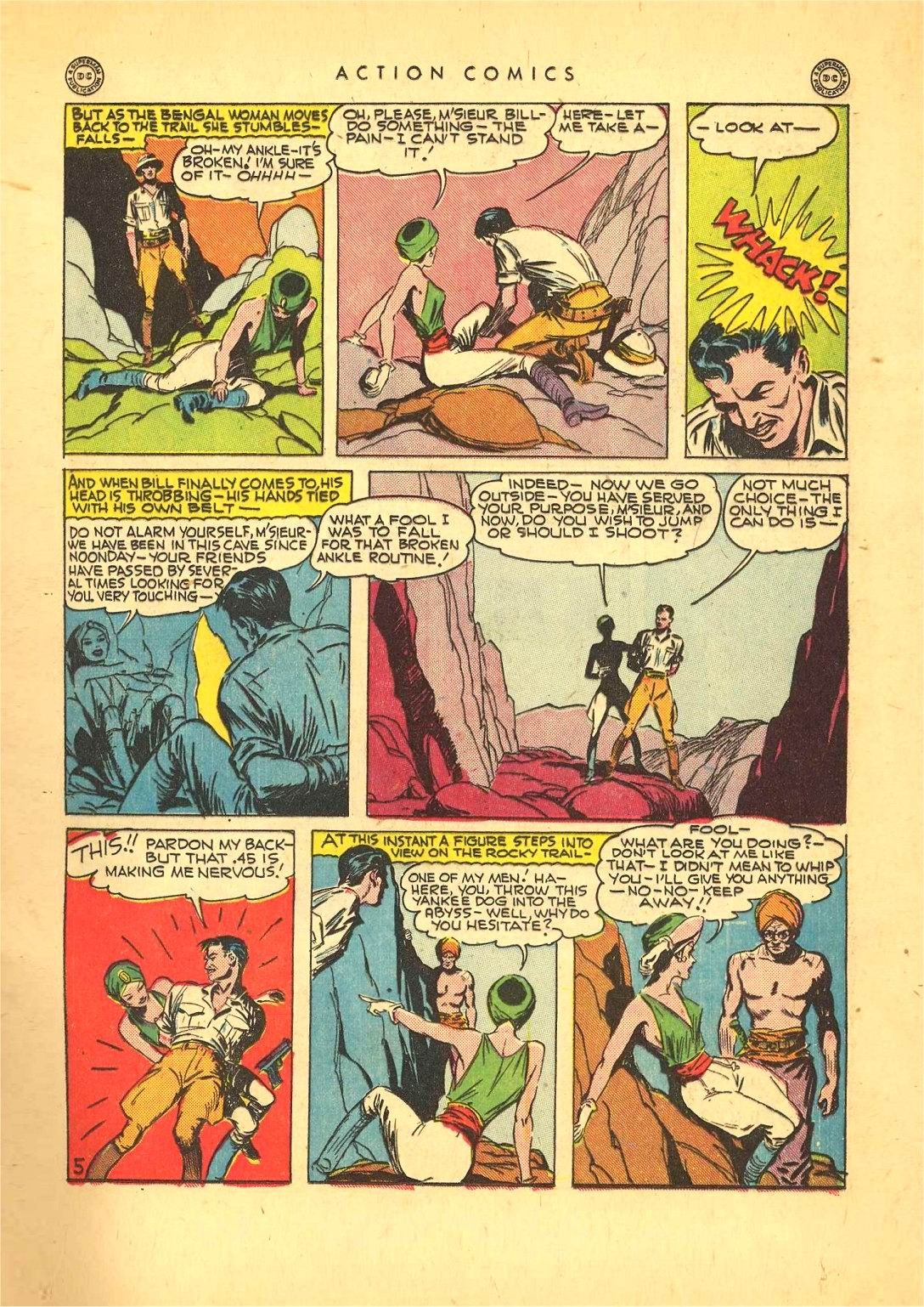 Read online Action Comics (1938) comic -  Issue #92 - 19