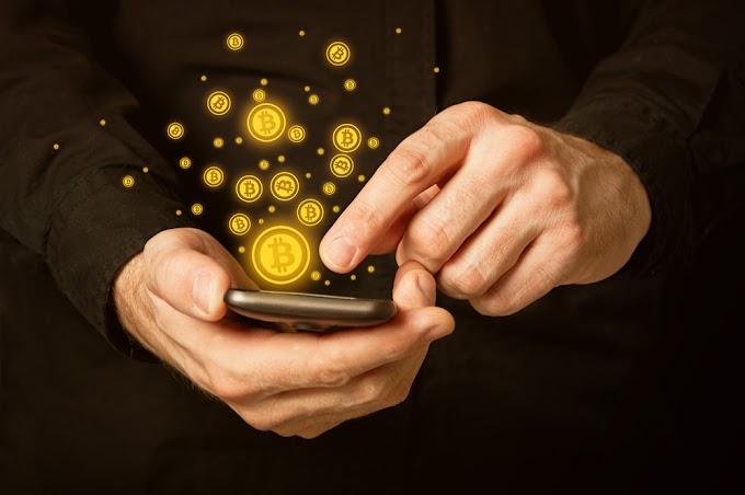 Smartphone Penambang Bitcoin
