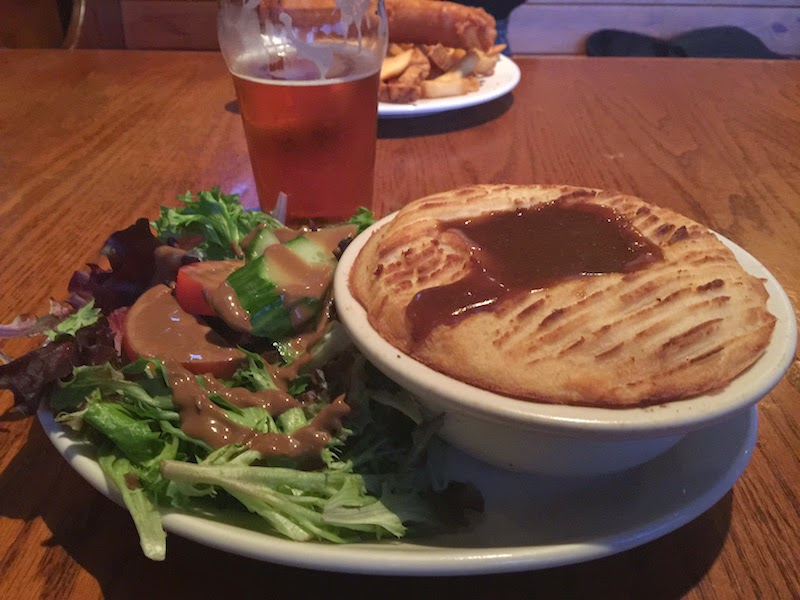 Cottage pie at The Moon and Sixpence in Portland