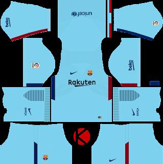 Barcelona Nike Kits 2017/2018 - Dream League Soccer