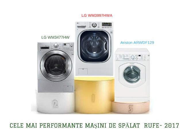 masini de spalat rufe  care usuca 2017