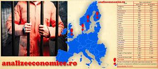 Rata criminalității statele UE