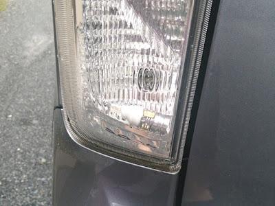 ムーヴカスタムLA100S LEDテールランプバルブの落下
